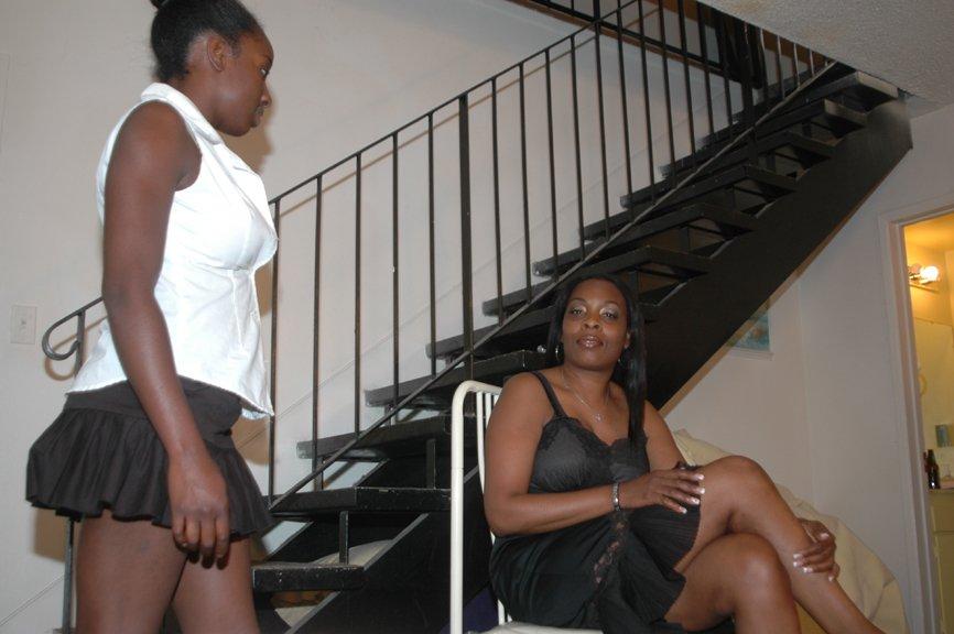 Spanked sweeties black girls