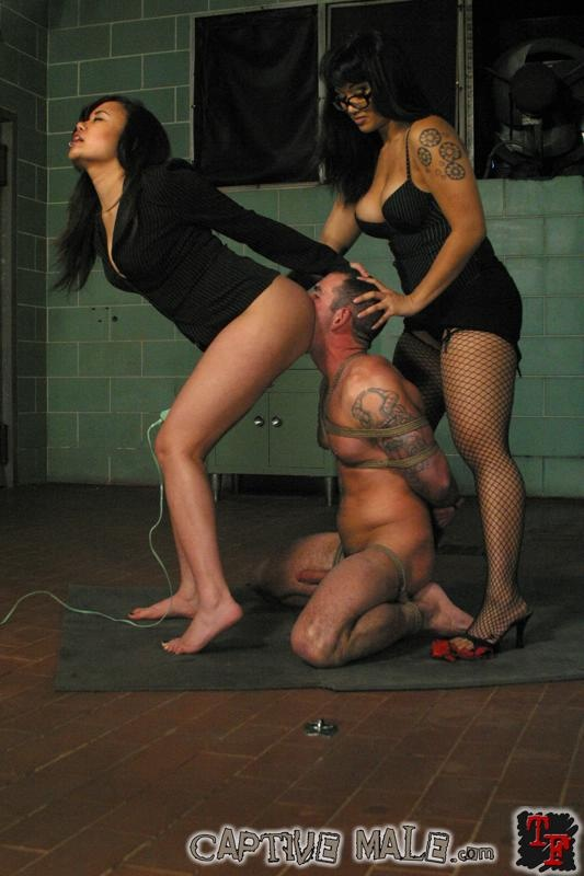 Femdom captive male video humiliation