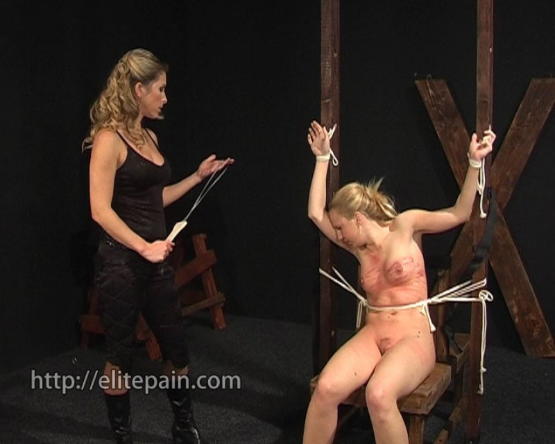 Bondage movie spanking