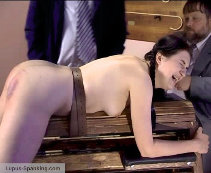 Bank ebony spank