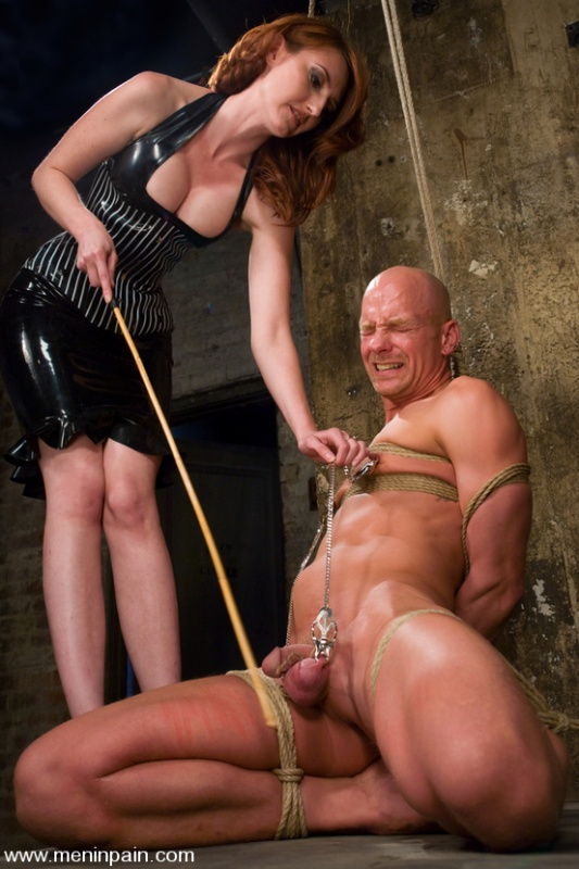 Commit bondage domination man naked pain that