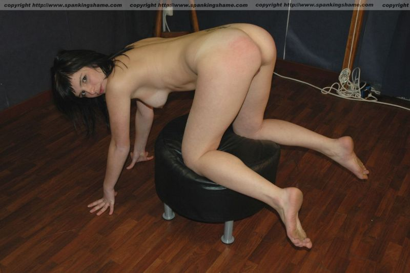 girl stripped and spanked