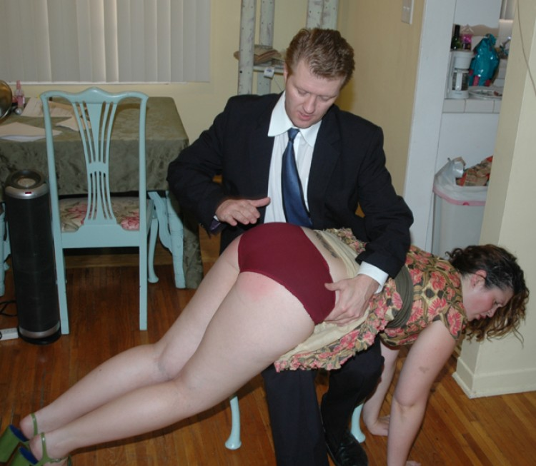 Amatuer wife spank their husband picture