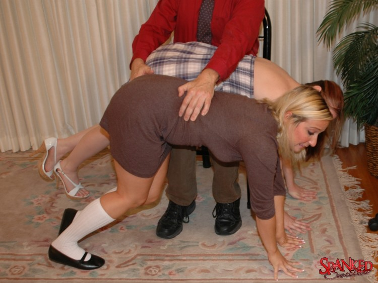 Old man spanks girl first time molly earns