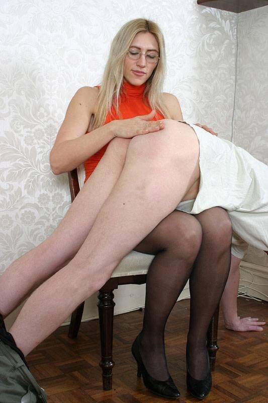 Spank female british