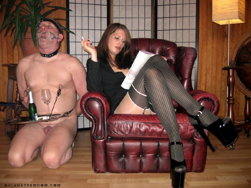 Female domination serving the wife