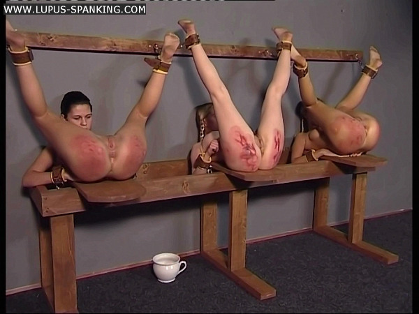 naked girls getting spanked