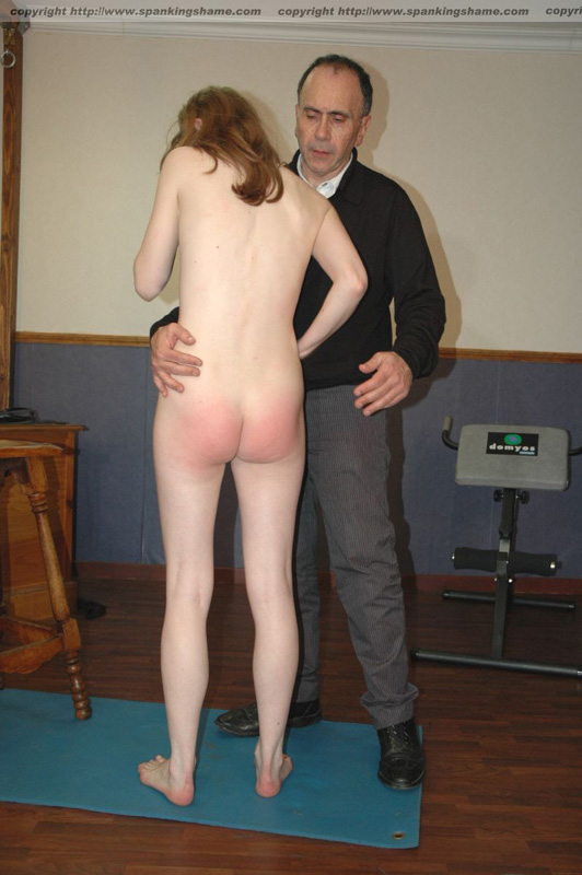 sexy chubby redheads getting spanked
